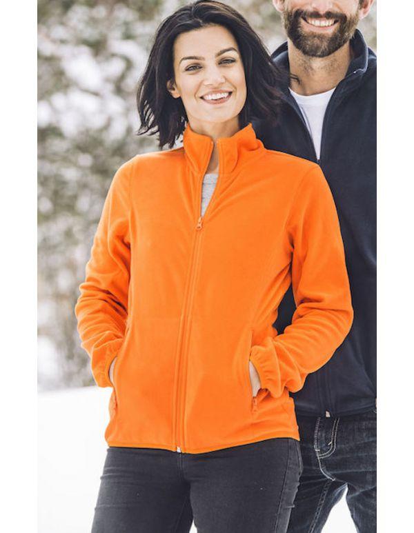 Ladies Jacket Micro Fleece Basic