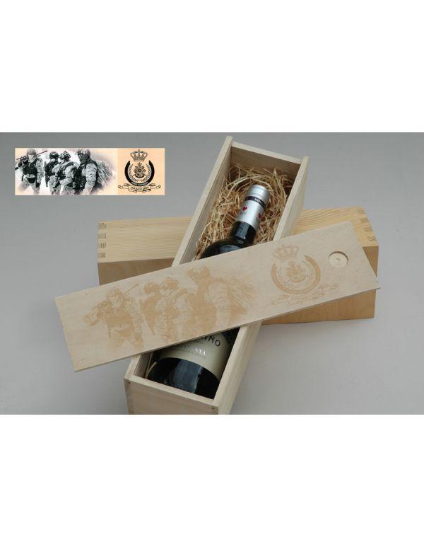 Wijnkistje Korps Mariniers