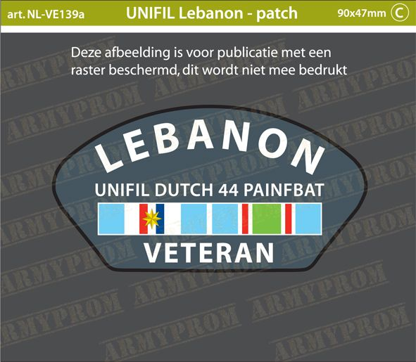 Patch Libanon Veteranen