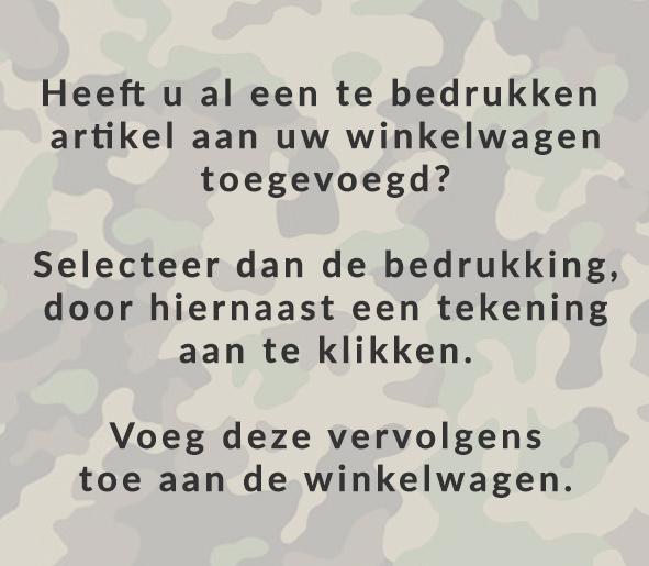 Army prints voor landmachten